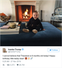 Ivanka's birthday tweet for her 8-month-old son